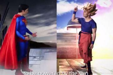 Epic Rap Battle - Superman vs Goku