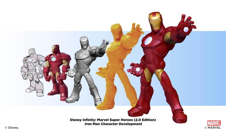 """Disney Infinity: Marvel Super Heroes"" - Iron Man - Character Development Montages"