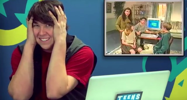"Kids react to ""The Kids' Guide to the Internet"""