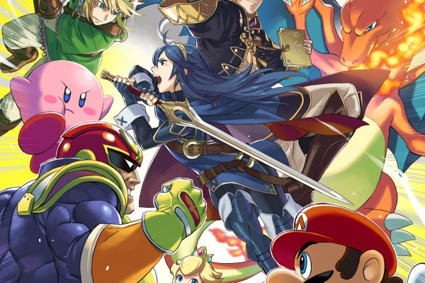 Super Smash Bros. for Wii U & 3DS - Captain Falco, Lucina, Robin
