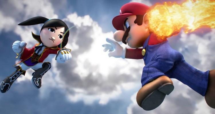 AKB48 / Super Smash Bros 3DS - Promo 1