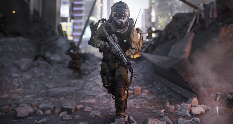 Call of Duty: Advanced Warfare - Induction - Vision Mode Active