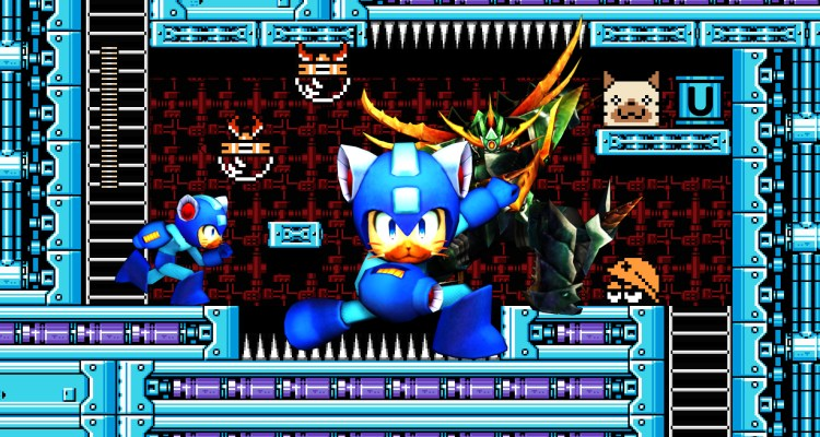 Monster Hunter 4 Ultimate - Versión Palico de Mega Man