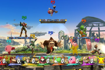 Super Smash Bros for Wii U: 8-Player Smash
