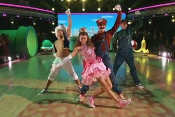 ABC's Dancing with the Stars - Sadie Robertson & Mark Ballas' Super Mario Bros. Freestyle Dance
