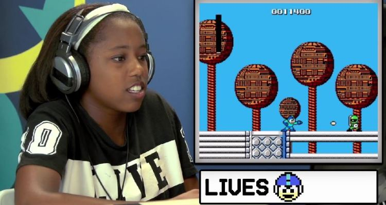 Teens react to Mega Man (NES)