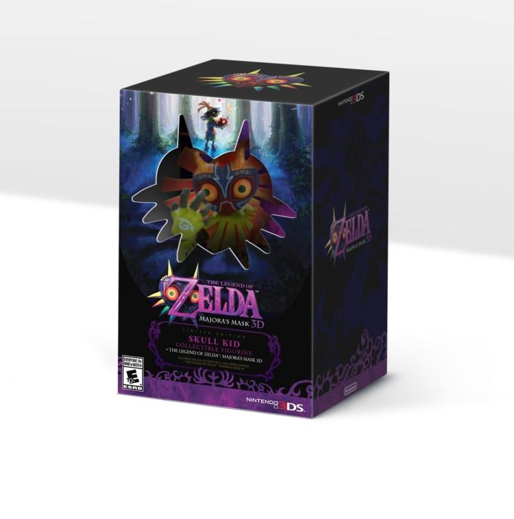 """""""The Legend of Zelda: Majora's Mask 3D"""" Limited Edition Bundle"""