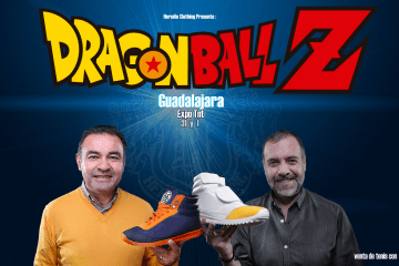 Heredia Clothing: DBZ Sneakers - Mario Castañeda & René Garcia