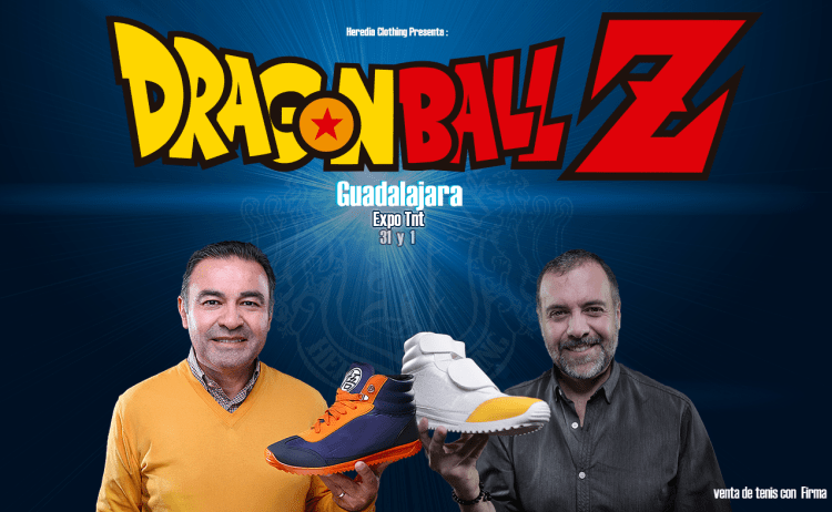 Heredia Clothing: Dragon Ball Z Sneakers - Mario Castañeda & René Garcia