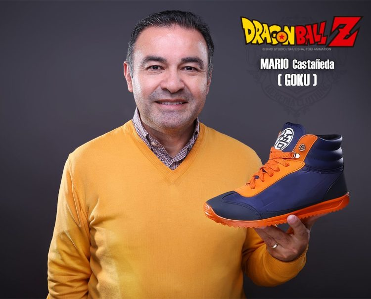 Heredia Clothing: Dragon Ball Z Sneakers - Mario Castañeda
