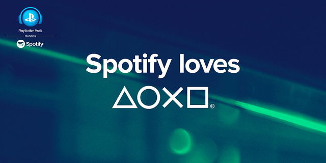 Spotify loves playStation