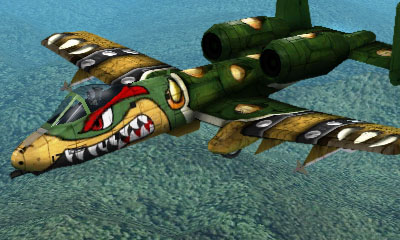 Ace Combat Assault Horizon Legacy+ / A10-A Aircraft  - Bowser