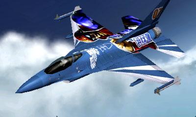 Ace Combat Assault Horizon Legacy+ / F16C Aircraft  - Captain Falco