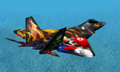 Ace Combat Assault Horizon Legacy+ / F-22 Aircraft - Mario