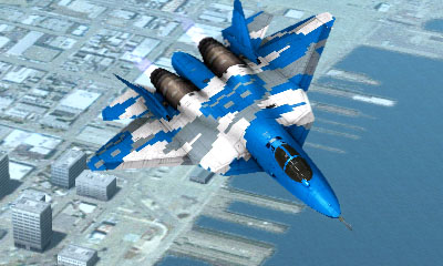 Ace Combat Assault Horizon Legacy+ / PAC FA Aircraft - Pacman