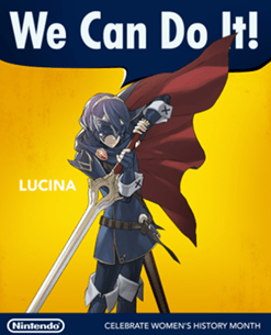 Nintendo / Lucina / Women's History Month