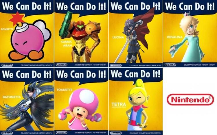 Nintendo / Women's History Month