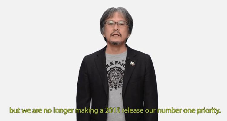 Anuncio de Aonuma: La Leyenda de Zelda para Wii U no será lanzado en 2015