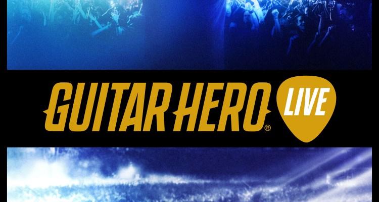 Guitar Hero Live (Retail Key Art)