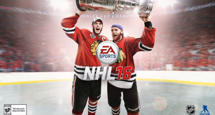 EA Sports: 2015 Stanley Cup Champions Jonathan Toews and Patrick Kane selected as NHL 16 Cover Athletes