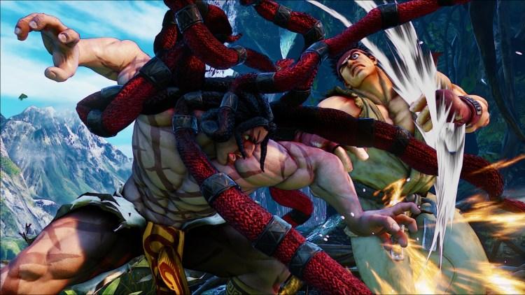 Street Fighter V: Necalli - Overhead