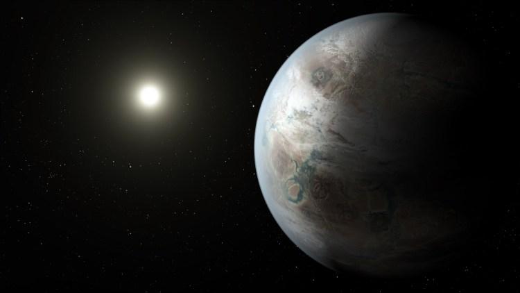 "Kepler spacecraft discovers Earth's ""bigger, older cousin"""