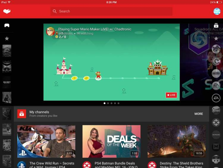 Por fin llega YouTube Gaming