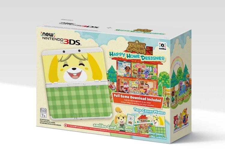 New Nintendo 3DS bundled with Animal Crossing: Happy Home Designer