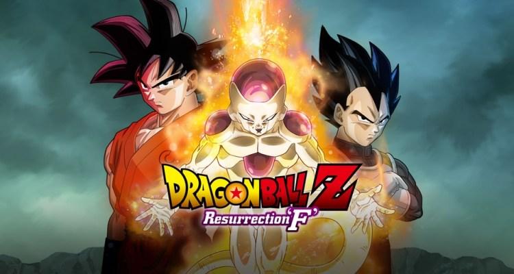 Dragon Ball Z: Resurrection F se encuentra entre las mejores 10 películas anime de más taquilleras en Norte América