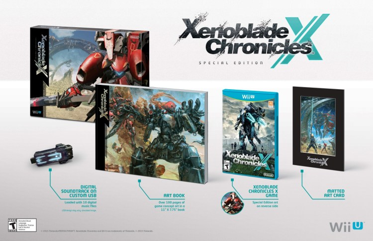 Xenoblade Chronicles X Special Edition is coming to Wii U on Dec. 4