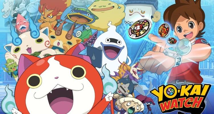 Yo-kai Watch llegará el 6 de noviembre a los EE.UU.