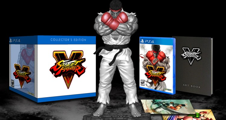 Street Fighter V Collector's Edition - Box Art - Work in Progress