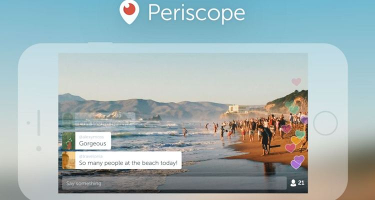 Periscope introduces Landscape mode