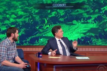 No release date for No Man's Sky, but Colbert plays it to conquer worlds anyway