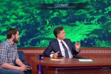No hay fecha de estreno para No Man's Sky, pero Colbert de todos modos lo juega para conquistar mundos