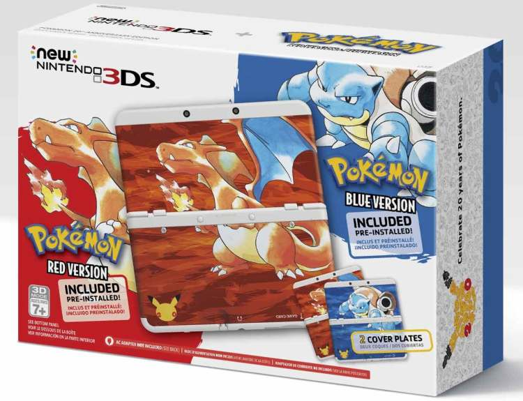 Nintendo announces plans for Pokémon's 20th Anniversary celebration