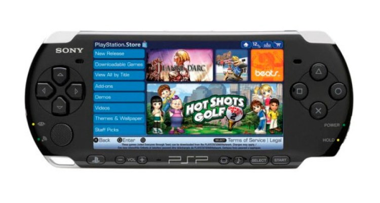 Sony is shutting down access to the PSP's PlayStation Store