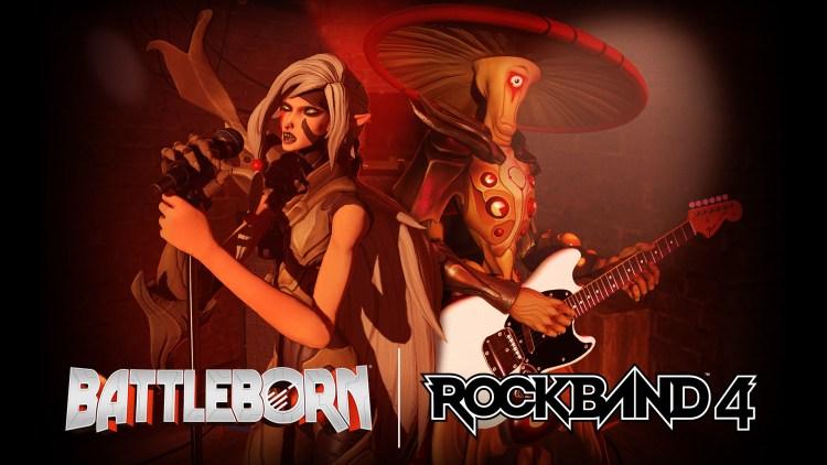 Llega Battleborn a Rock Band 4