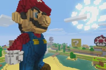 Super Mario is coming to Minecraft: Wii U Edition