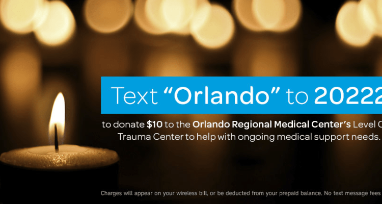 AT&T sets up text donation service after Orlando tragedy