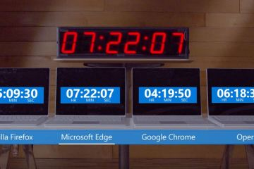 Microsoft shows Edge is a more efficient browser for your laptop's battery
