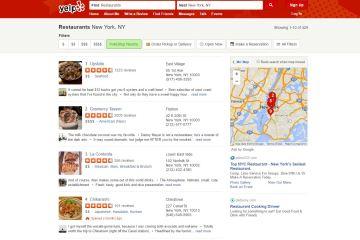 Yelp ahora le permite a la gente encontrar negocios con PokéStops