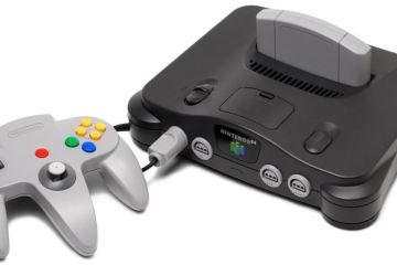El Nintendo 64 es la consola retro favorita de los gamers