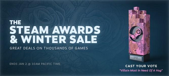 Los Premios Steam y Las Rebajas de Invierno de Steam