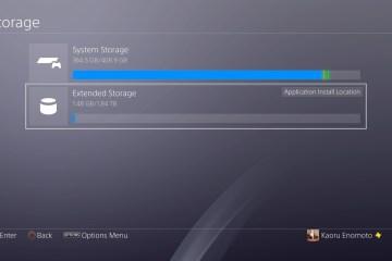 Sony ofrecerá soporte de disco duro externo para el PS4