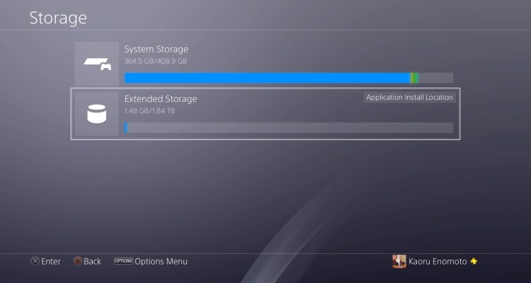 Sony will add external hard drive support to PS4