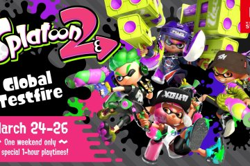 Global Testfire de Splatoon 2