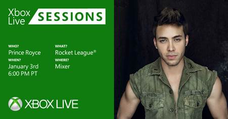 Prince Royce - Rocket League - Xbox Live Sessions