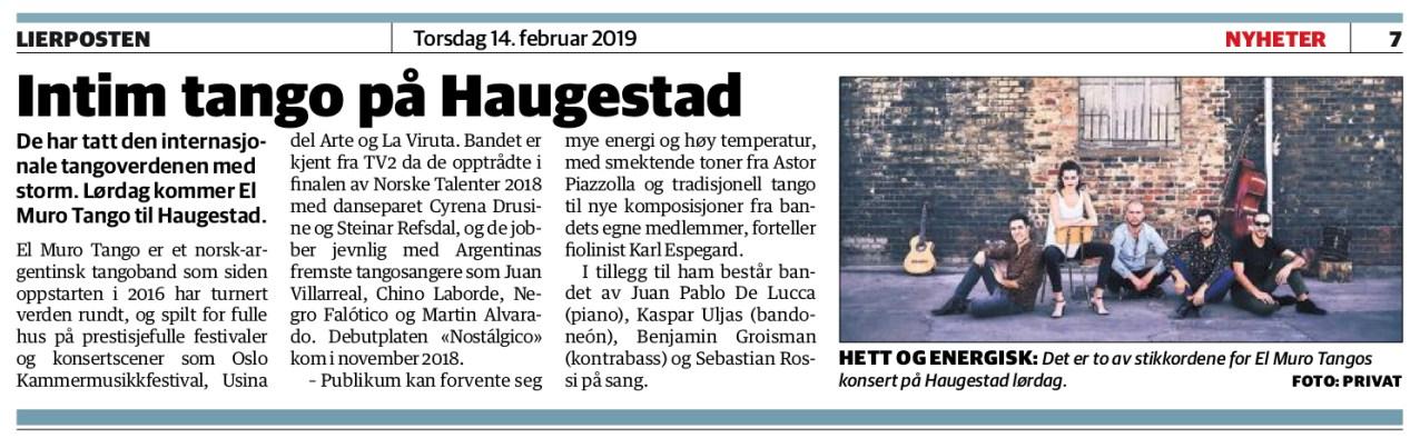 Lierposten - 15 Feb, 2019