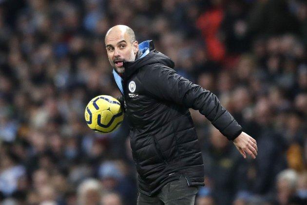 Pep Guardiola Manchester City pilota Europa Press